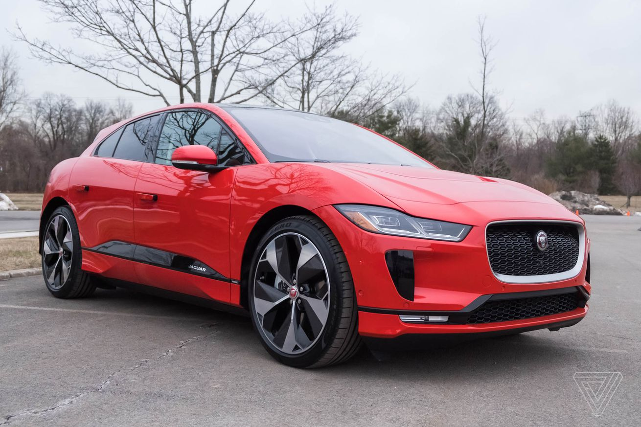 here s the fake noise the jaguar i pace makes when you hit the throttle
