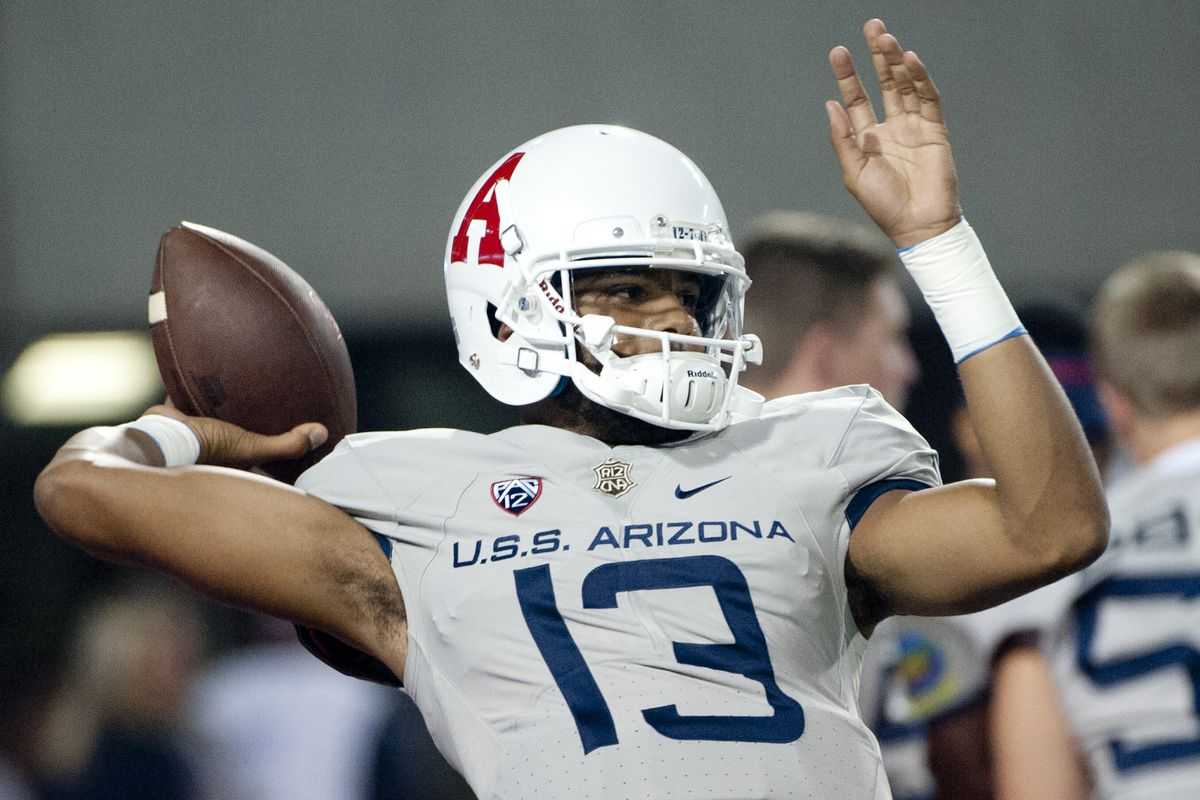 Arizona Football Depth Chart Brandon Dawkins Khalil Tate Will Continue Quarterback Compeion In 2017