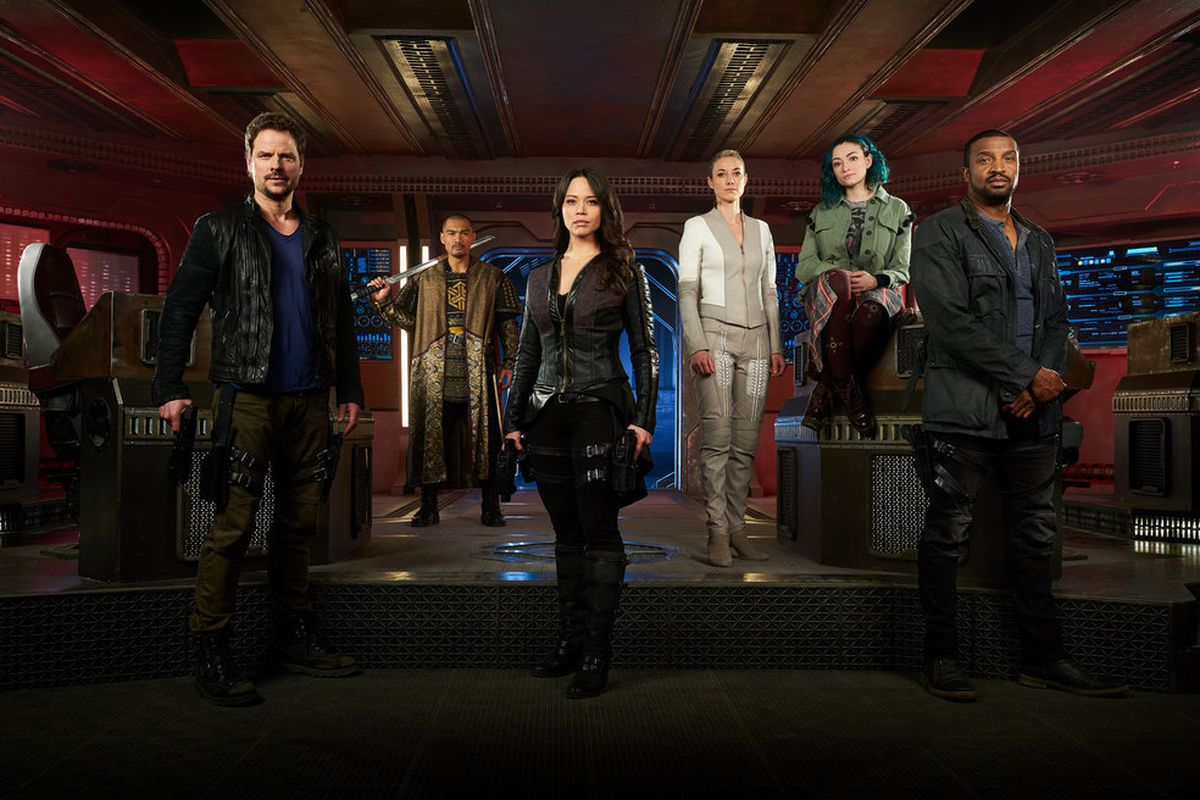 After Syfy Canceled Dark Matter Mgm Wanted To Save The Show And Cross It Over With Stargate The Verge