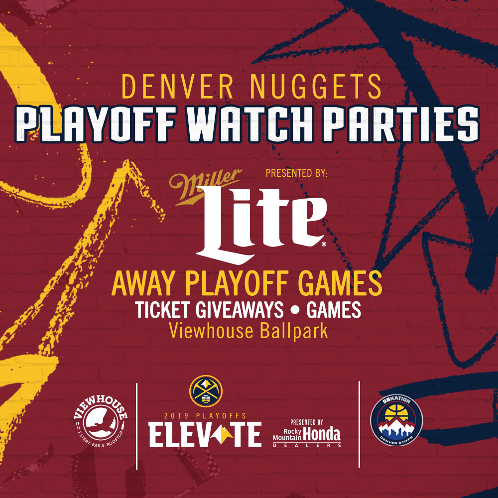 Nuggets Watch Party: We're Partnering With The Denver Nuggets For The Official