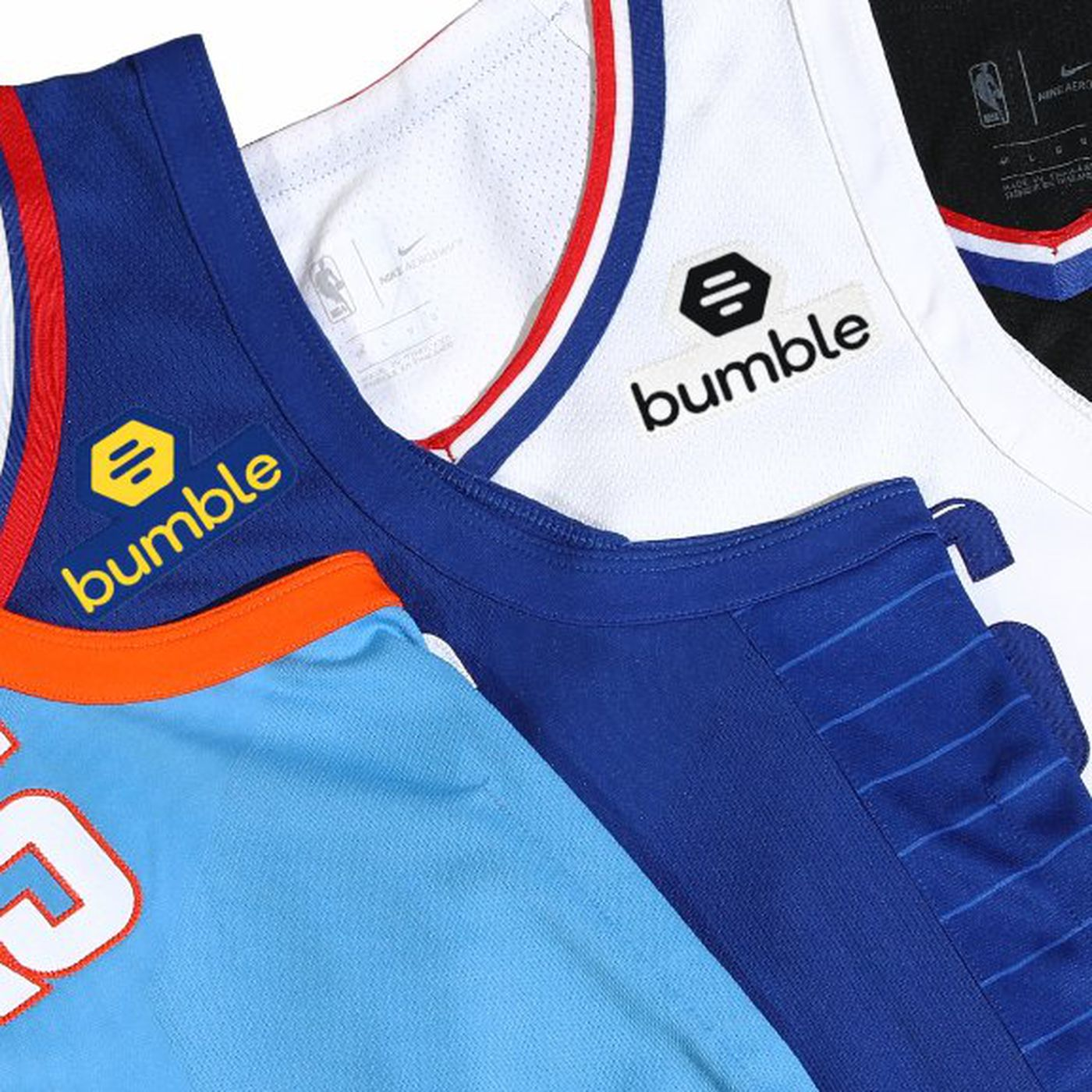 103e431c4 Los Angeles Clippers announce jersey sponsorship patch with Bumble -  SBNation.com