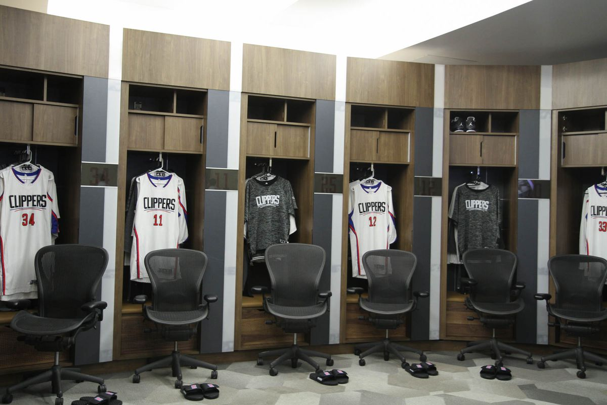 Take A Look Around The Fancy New La Clippers Locker Room