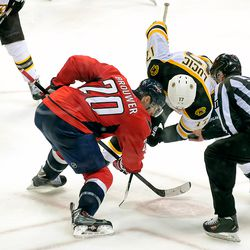 Brouwer and Lucic About to Faceoff
