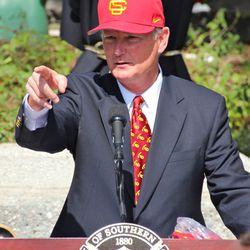 Athletic Director Pat Haden.
