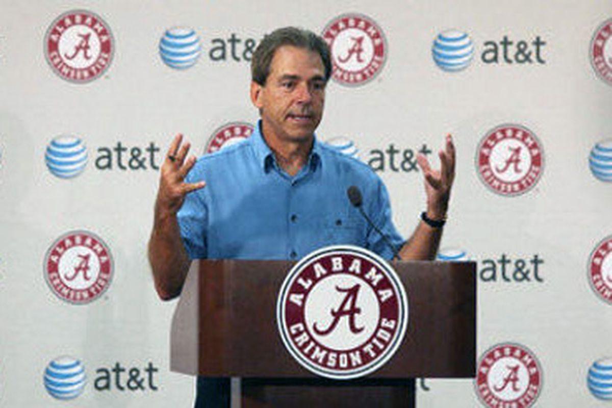 Coach Nick Saban