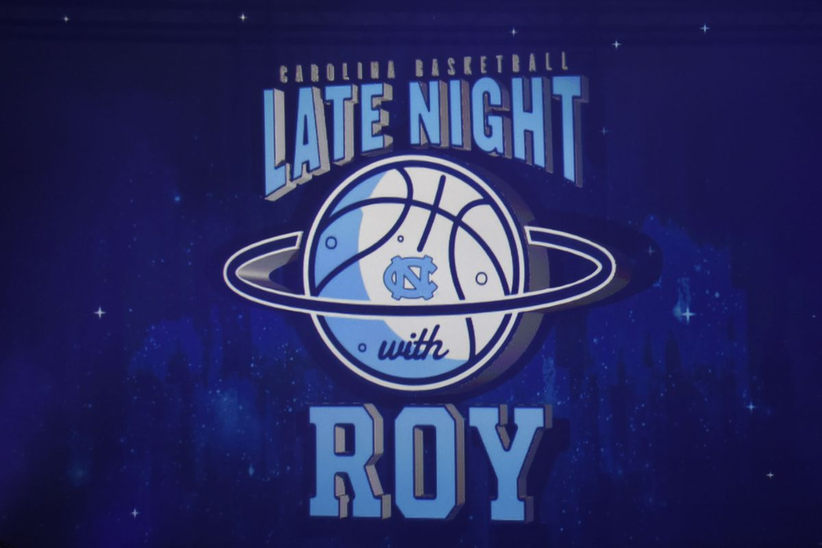 NCAA Basketball: North Carolina-Late Night with Roy