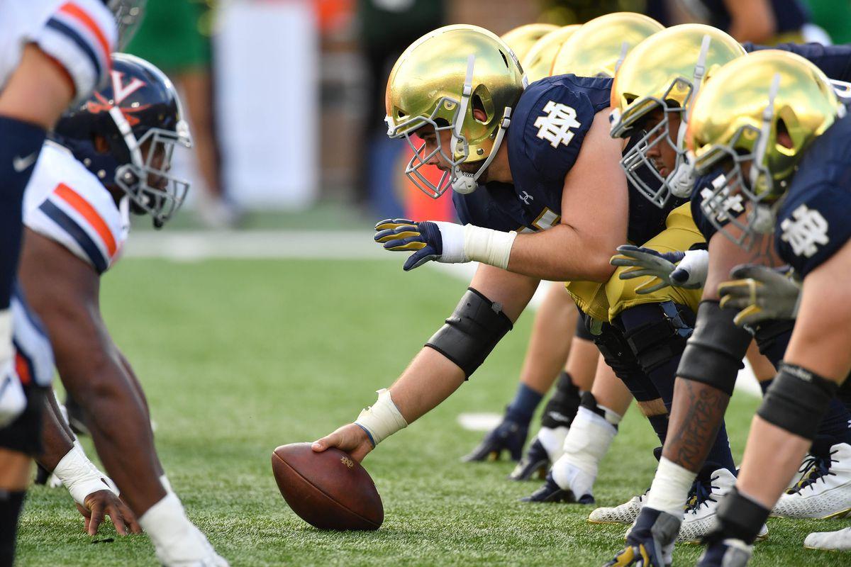 NCAA Football: Virginia at Notre Dame