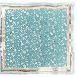 Look 27: Blue Floral Scarf, $19.99