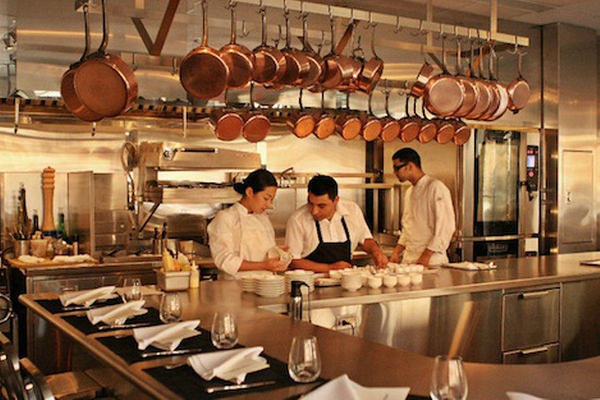Chef's Table at Brooklyn Fare.