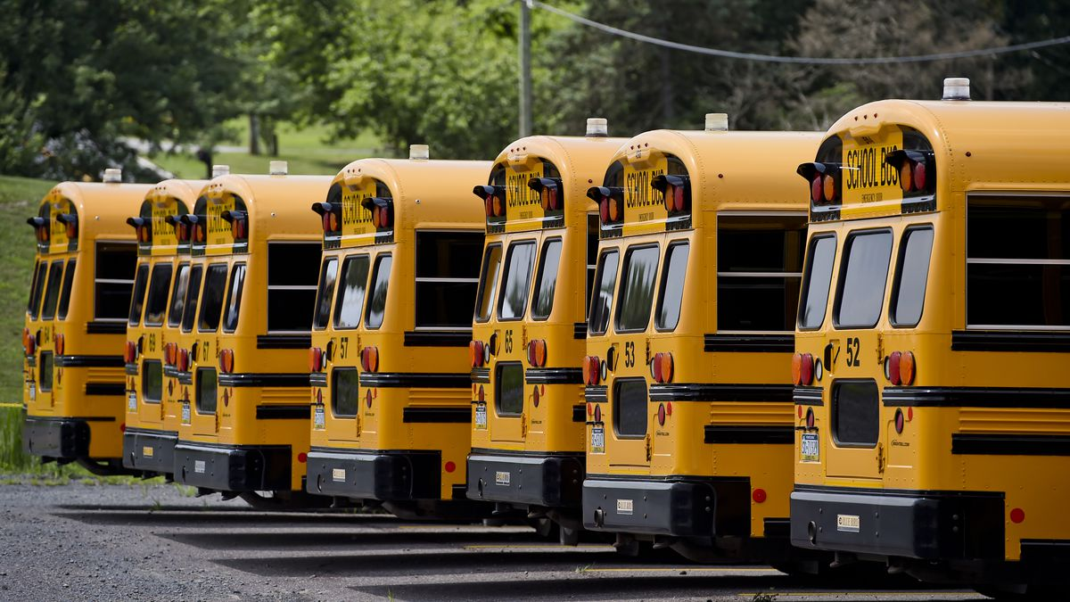 School Bus Drivers Prepare To Take Extra Precautions Against COVID-19 When Schools Reopen
