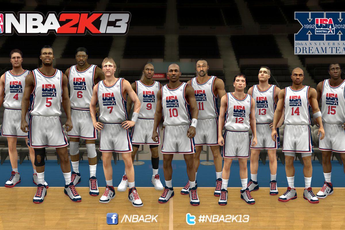 NBA 2K13 1992 Dream Team