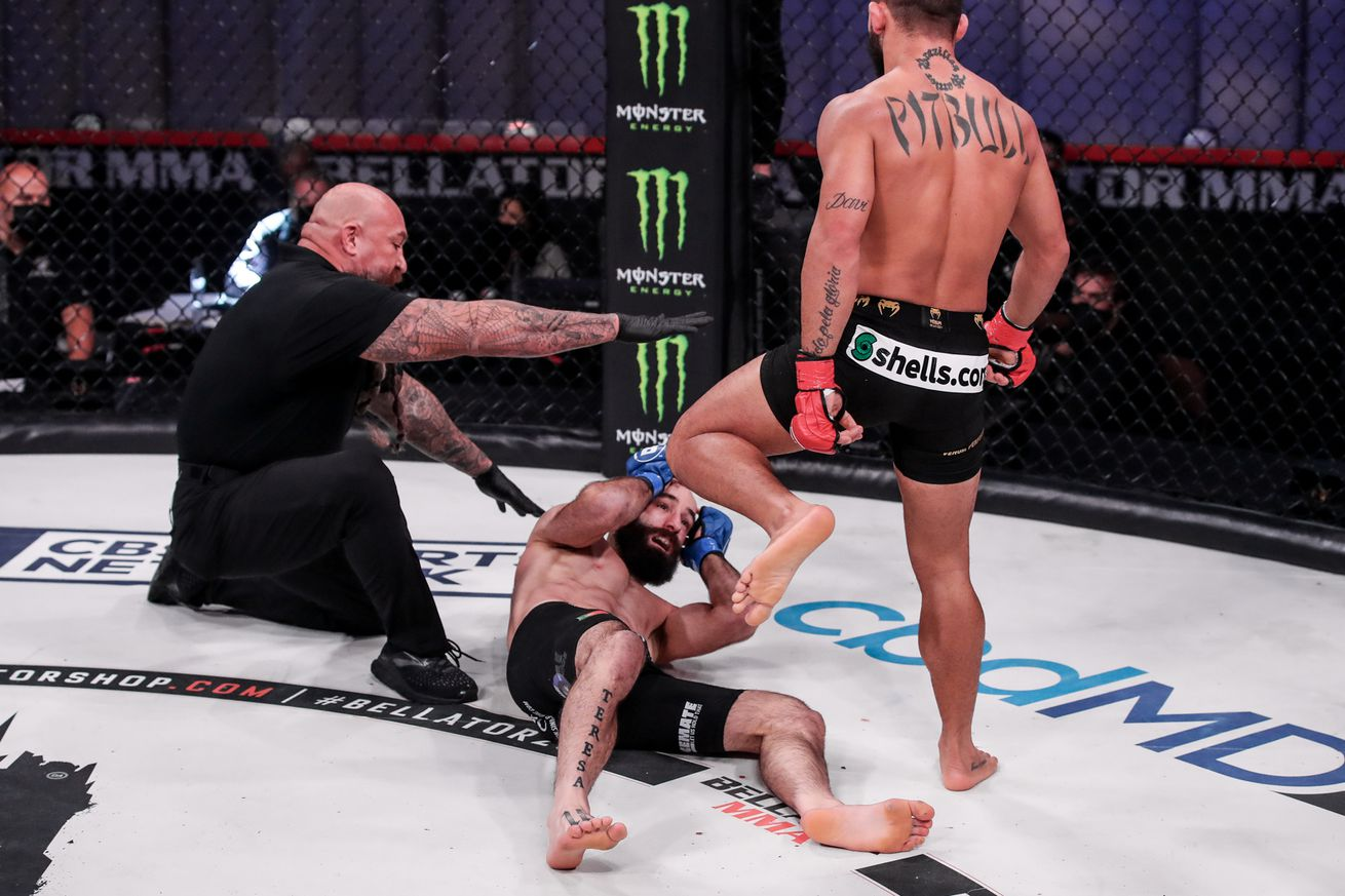 Bellator 252 results: Champ Patricio 'Pitbull' Freire knocks out Pedro Carvalho with ease