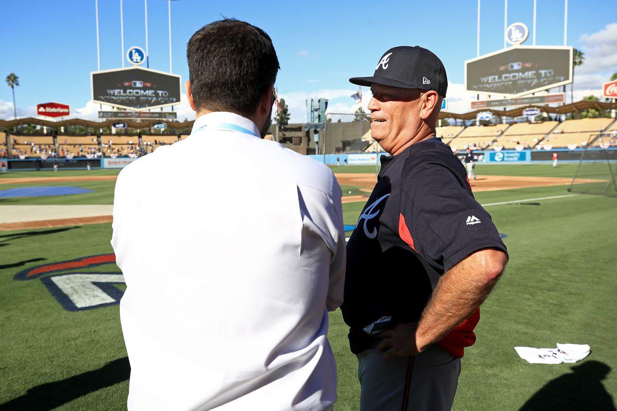 Divisional Round - Atlanta Braves v Los Angeles Dodgers - Game One