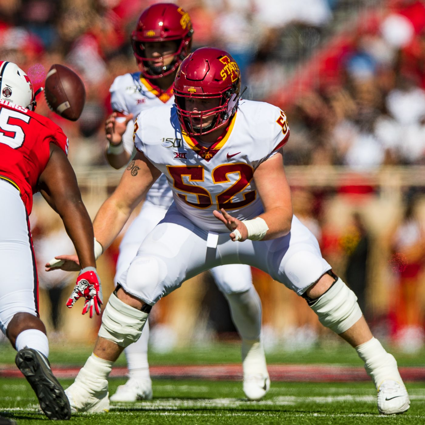2020 Iowa State Football Position Previews Offensive Line Wide Right Natty Lite