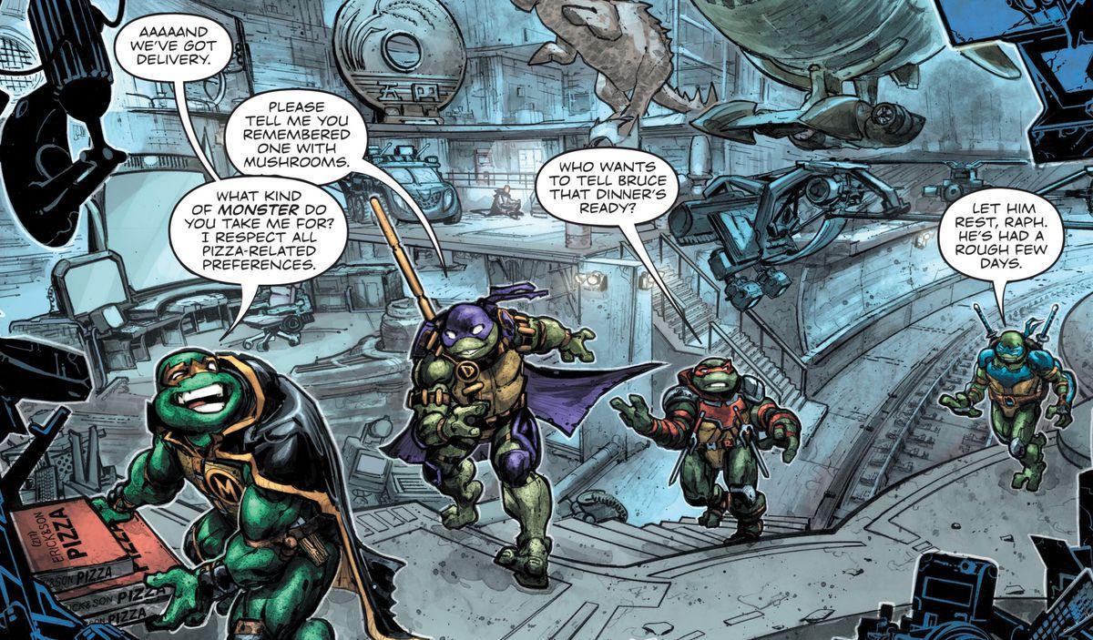 The Third Batman Ninja Turtles Crossover Has A Joker Shredder Mashup Polygon