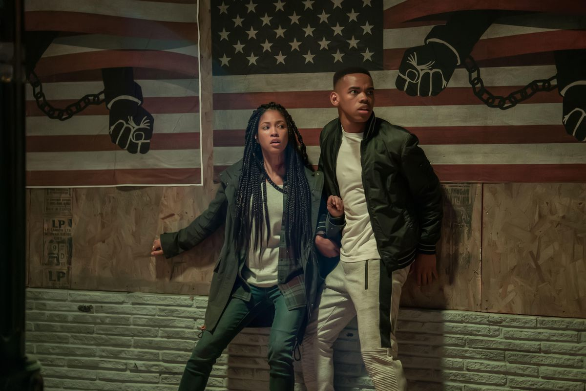 With The First Purge, the Purge series finally says something daring