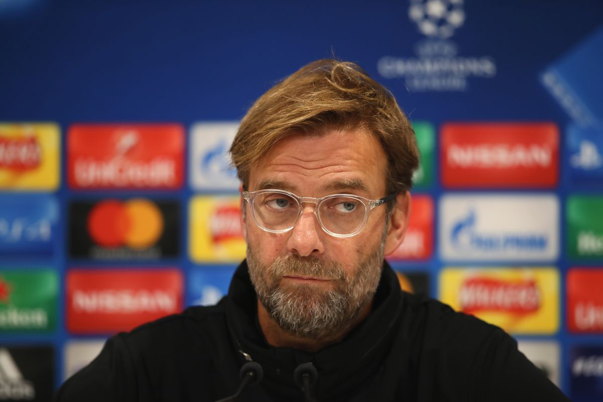 Liverpool FC Training and Press Conference