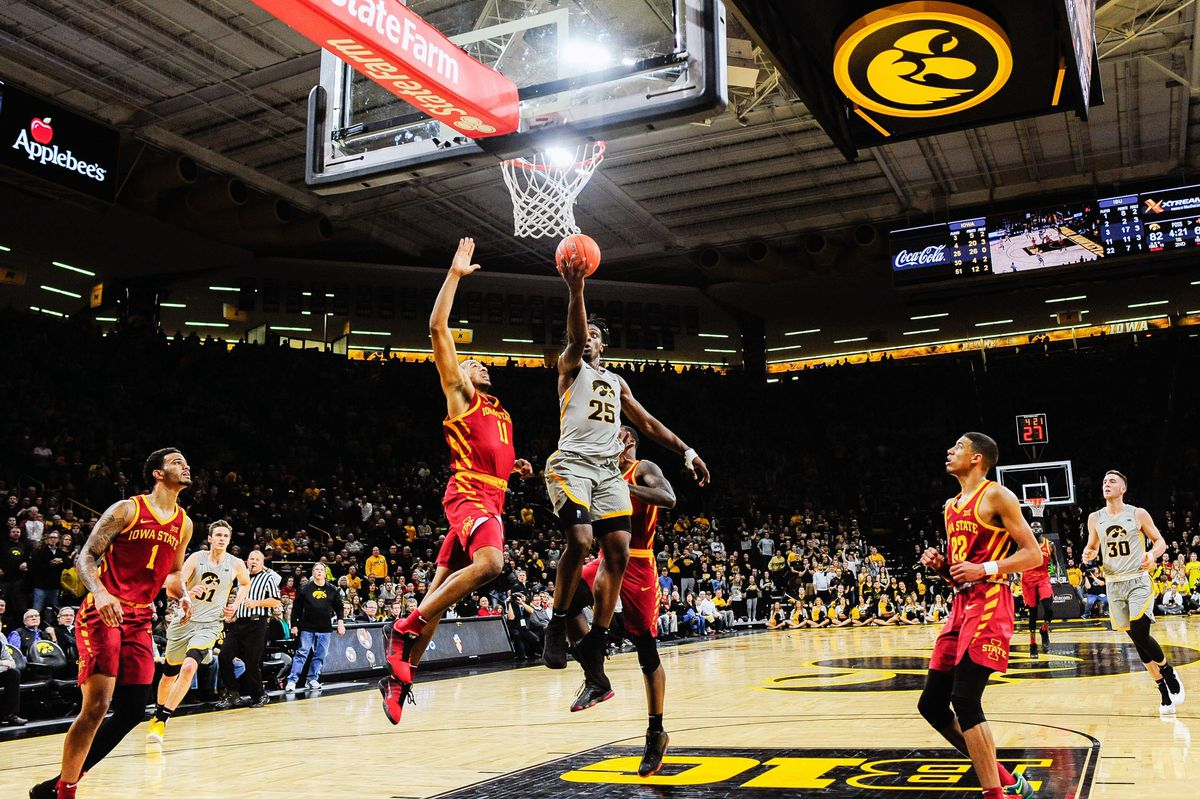 NCAA Basketball: Iowa State at Iowa
