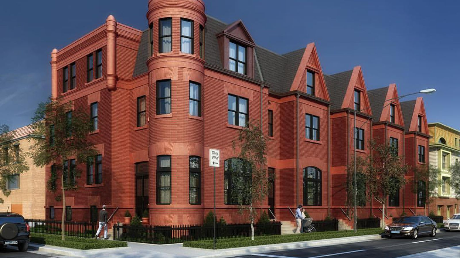 Range Lincoln Park Chicago ~ Five unit rowhouse development headed to chicago s lincoln