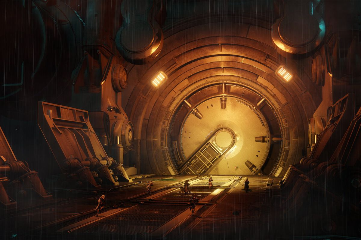 Destiny 2: Curse of Osiris - door in Leviathan, Eater of Worlds raid lair