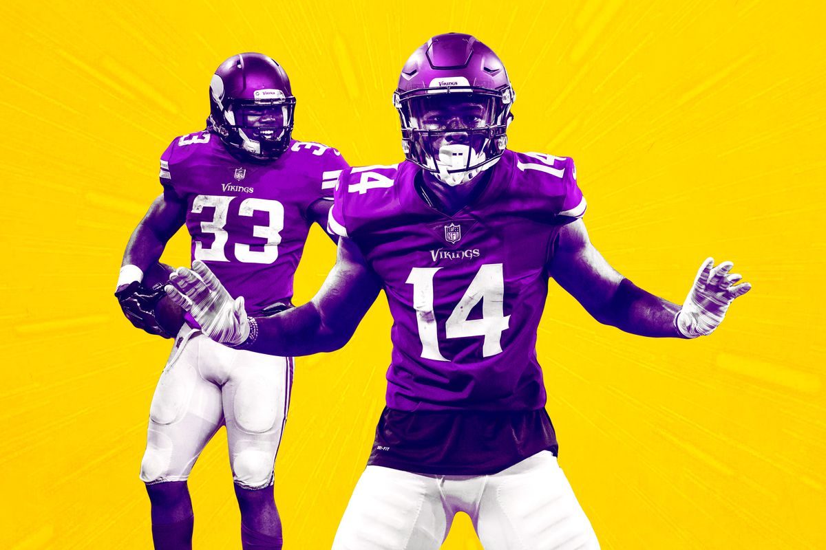 Stefon Diggs Dalvin Cook and Adam Thielen Make the Vikings Legit