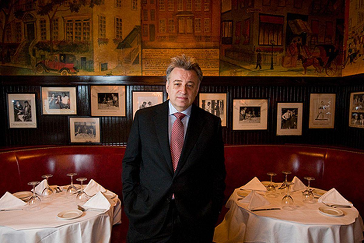 Keith McNally at Minetta Tavern