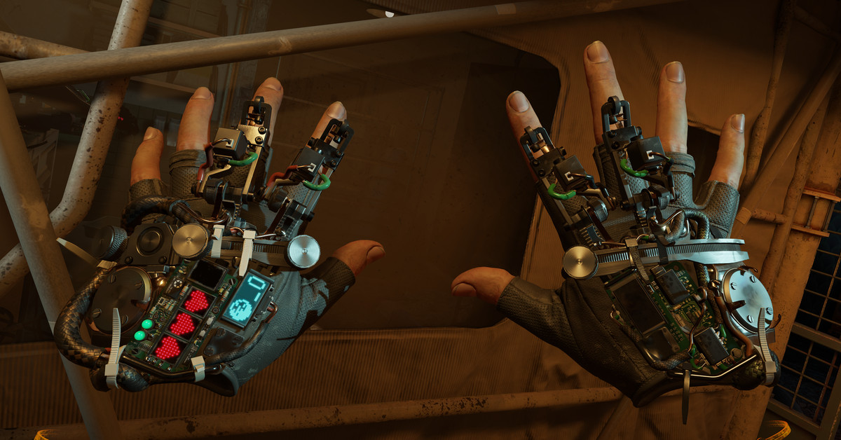 Valve shows off how you'll fight and move in Half-Life: Alyx