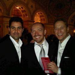 Boka's Kevin Boehm, Giuseppe Tentori and Rob Katz