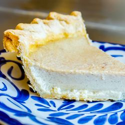 Horchata pie at Dove's Luncheonette in Chicago