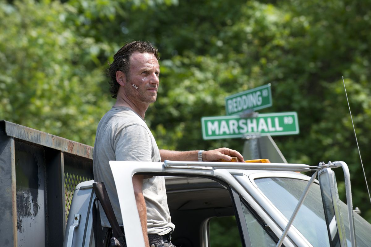 the walking dead: andrew lincoln will play rick grimes in walking