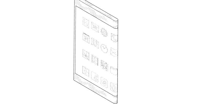 samsung u0026 39 s latest patent shows a phone with wraparound display