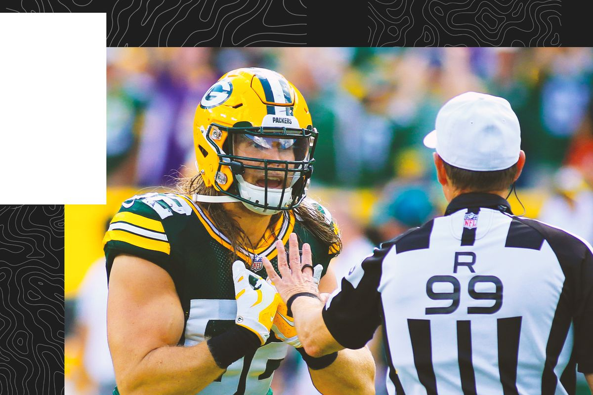 a5708569a Nobody, not even the officials, can really say what does and doesn't  constitute roughing the passer anymore.