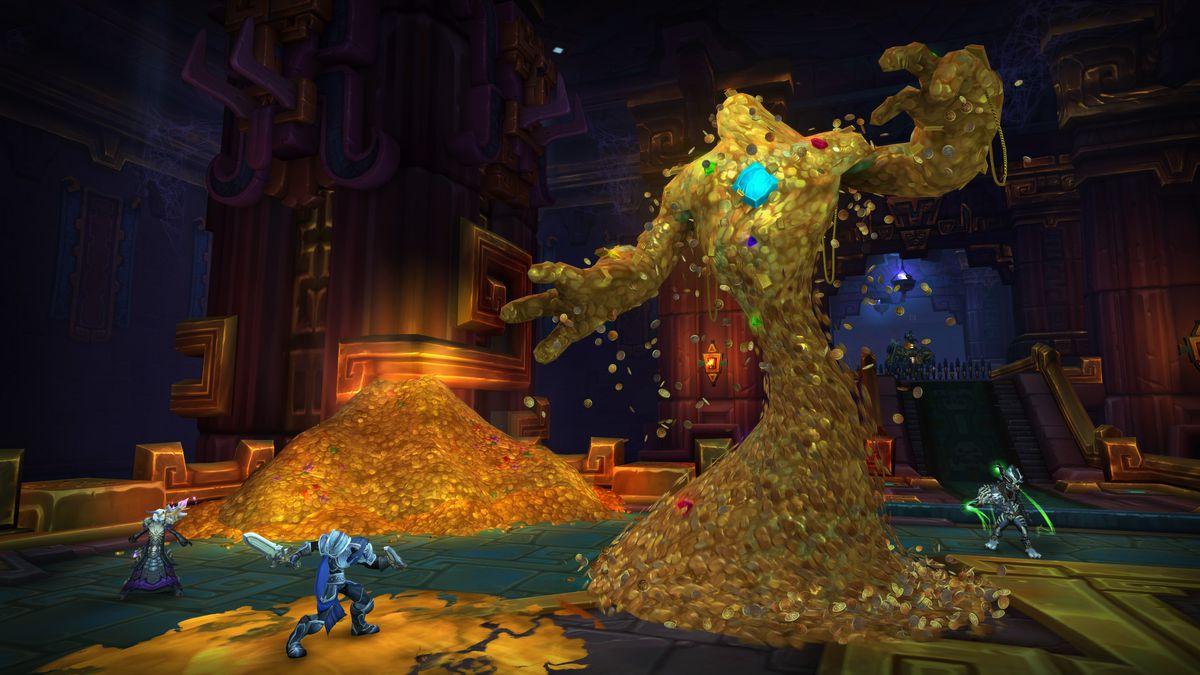 World of Warcraft - the raid boss Opulence