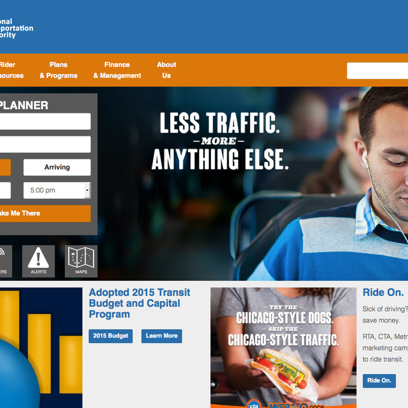 RTA launches new, mobile-friendly website - Chicago Sun-Times