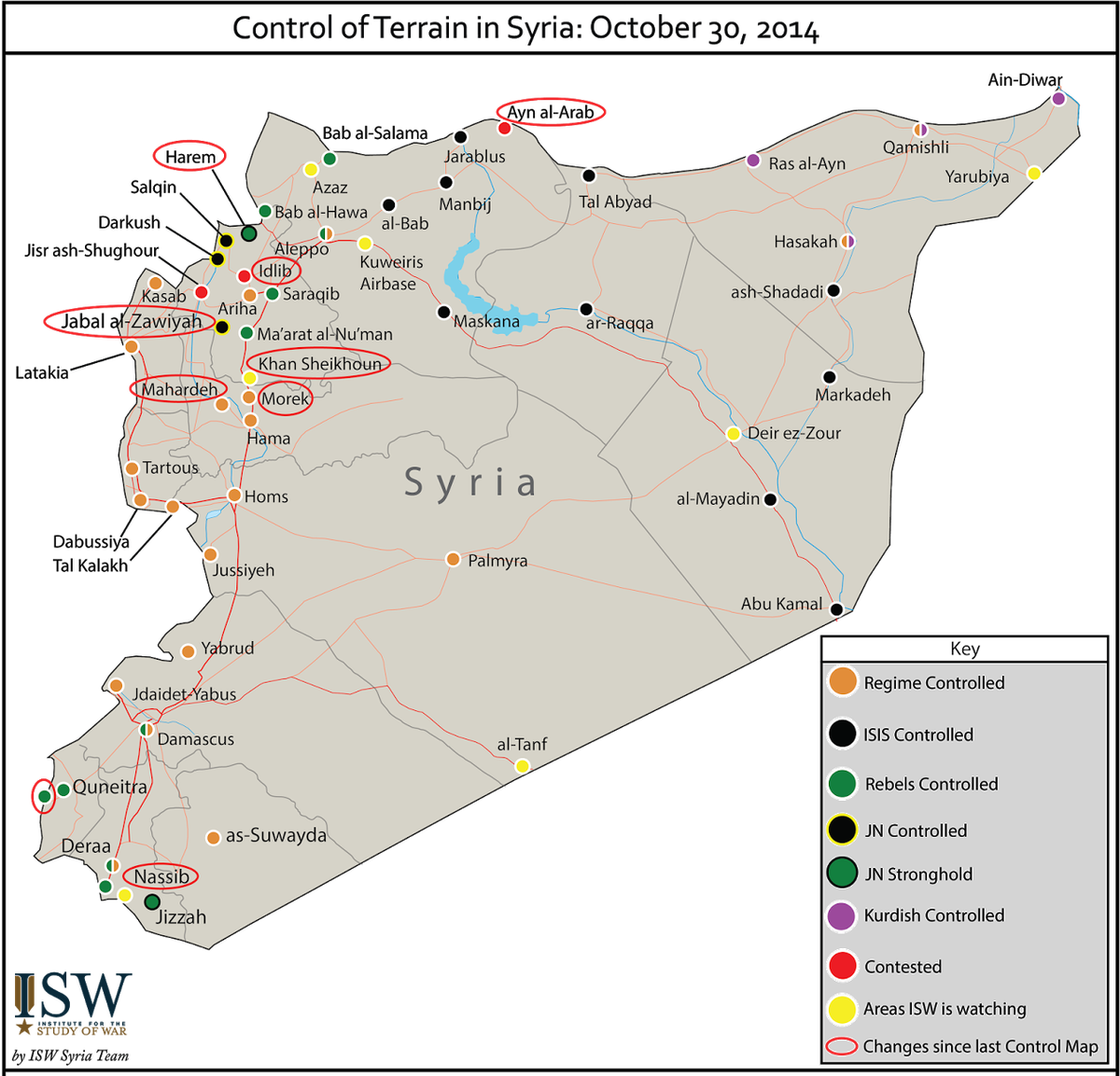 syria ISW October 30
