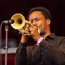 Darcy James Argue's Secret Society performs during Chicago Jazz Fest.   Tyler LaRiviere/Sun-Times