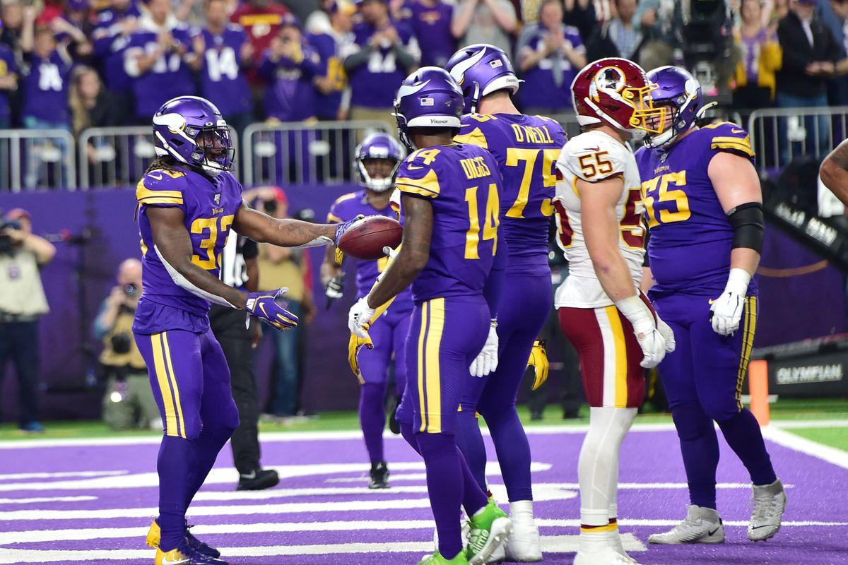 Minnesota Vikings vs. Washington Redskins