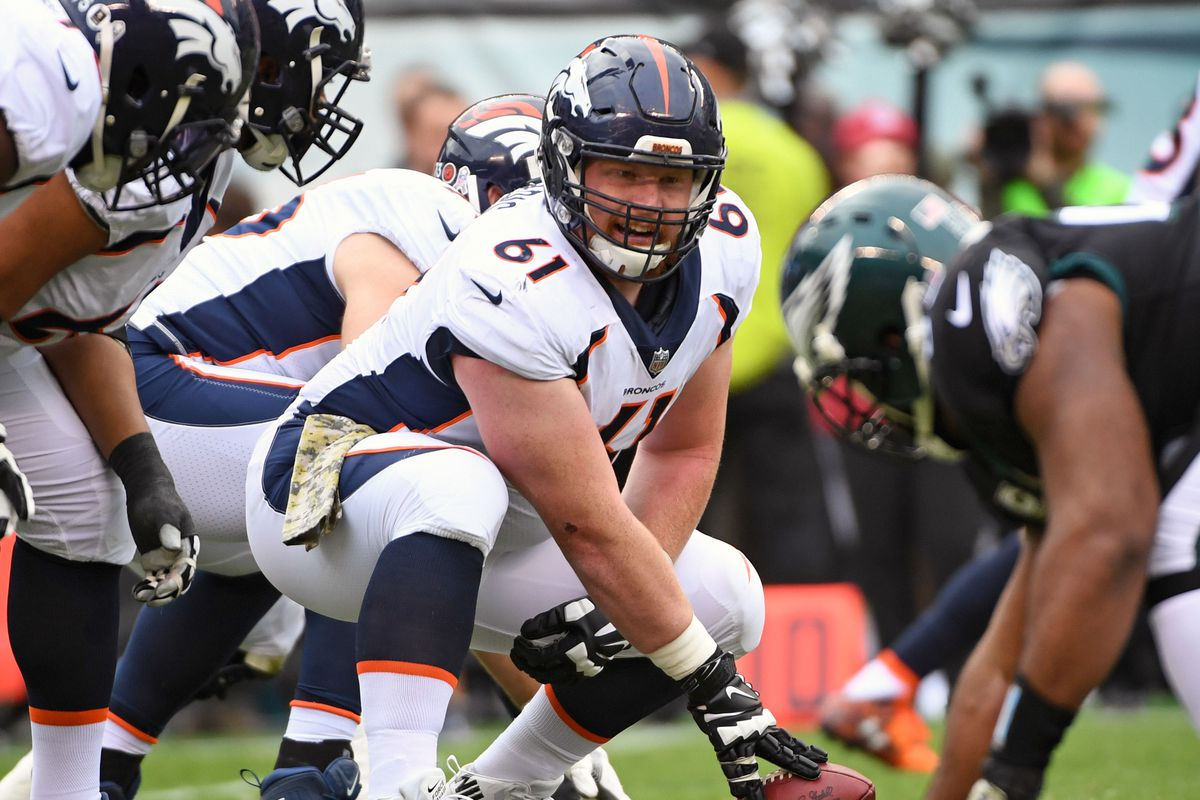 da49fd4561f Broncos have decisions to make with restricted free agents Matt Paradis and  Shaquil Barrett