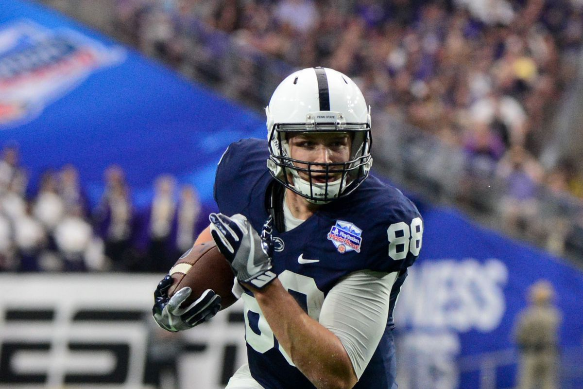 pretty nice d5690 9cdfc Mike Gesicki Drafted No. 42 by Miami Dolphins - Black Shoe ...
