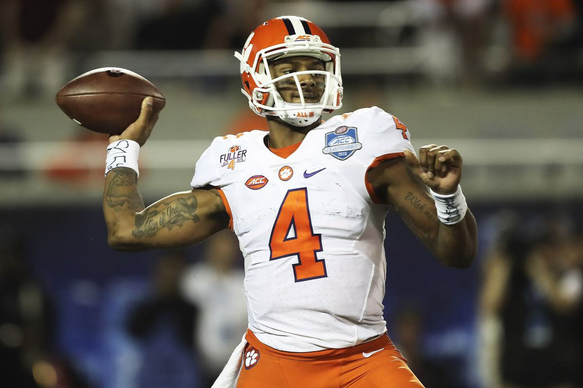 newest 5460a c86b8 Deshaun Watson had better 2016 stats than you might think ...