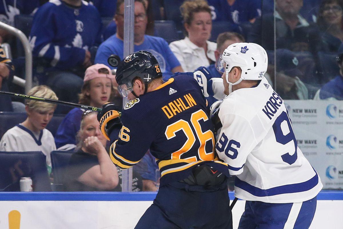 NHL: SEP 21 Preseason - Maple Leafs at Sabres