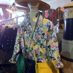 Pop art blouse at The House of Findings