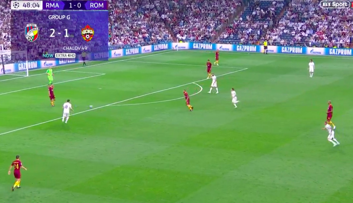 Real Madrid vs. Roma