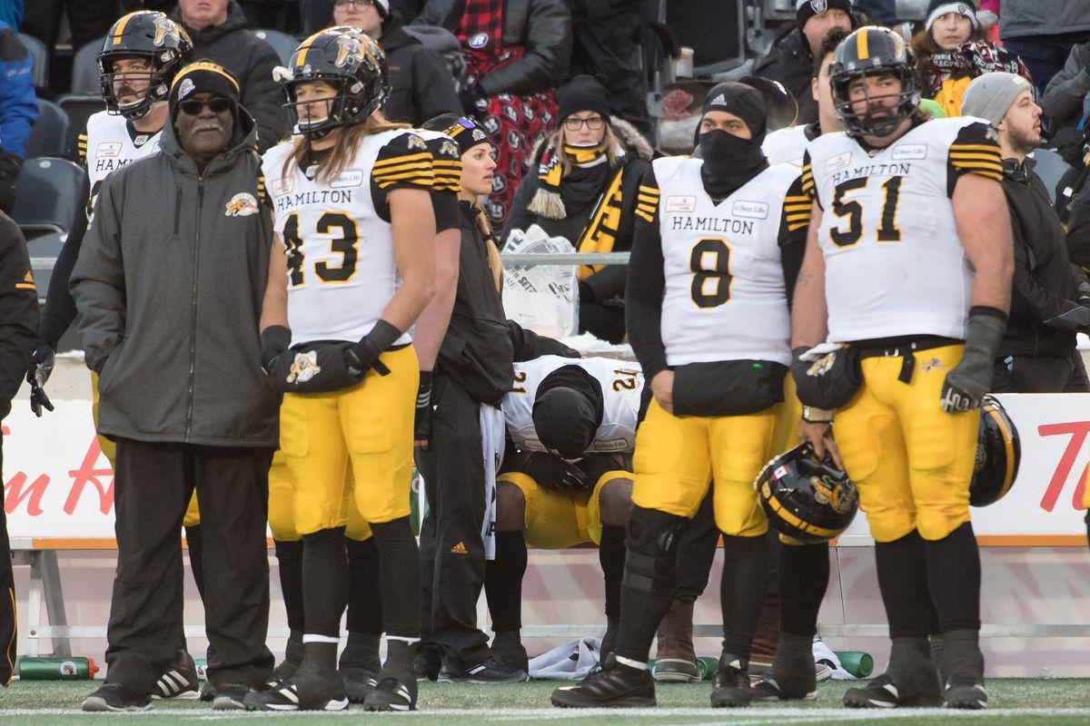 CFL: 2018 CFL Eastern Conference Final-Hamilton Tiger-Cats at Ottawa Redblacks