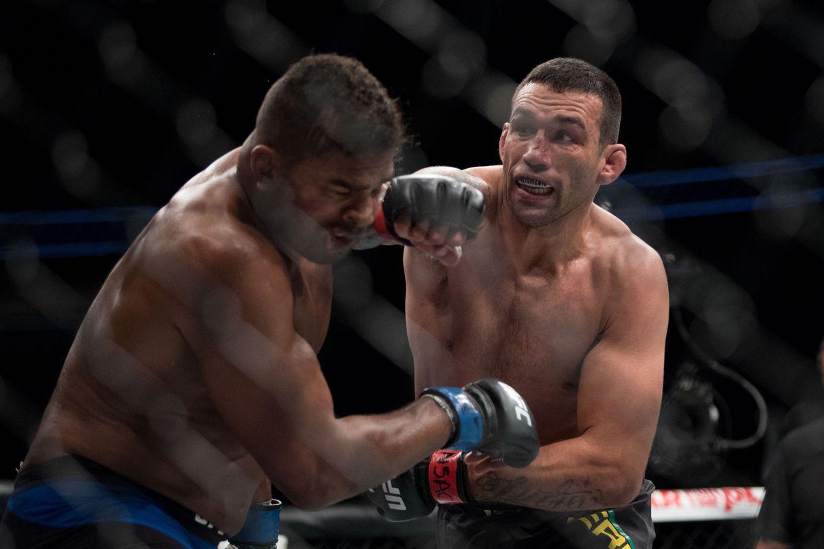 MMA: UFC 213-Werdum vs Overeem