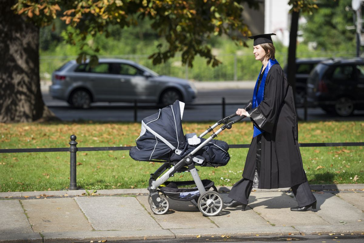 Nearly 30 percent of American men age 25 to 34 aren't as well-educated as their parents.
