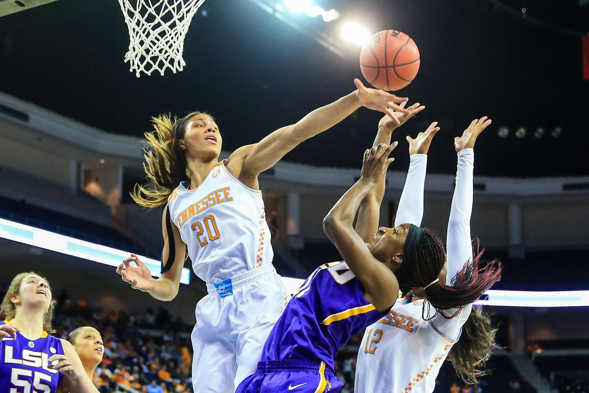 One Lady Vol back, four to go.