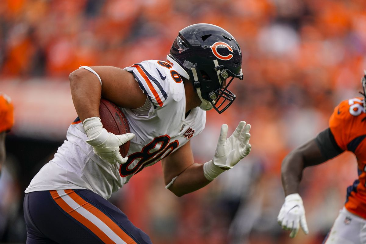 Ramping up Trey Burton's workload will 'take a little time'