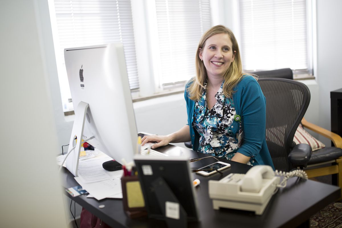 Dr. Emily Landon of the University of Chicago.