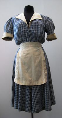 b657cb7f3fb0 The gingham print in bright colors, however, stood in stark contrast to the  dark-colored maid's uniform. While bright colors were designed to be  cheerful ...